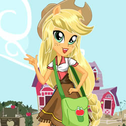 equestria girl applejack
