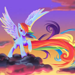 Rompecabezas de Rainbow Dash