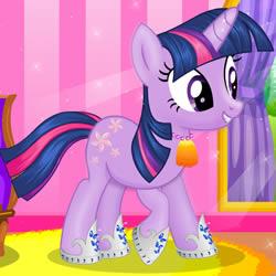 Cambio de imagen de la Twilight Sparkle
