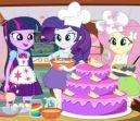 Equestria Girls Pastel de cocción