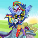Rainbow Dash Motocross Estilo