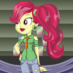 Rose Heart Equestria Girls De Vestir Jugar A Juegos Online
