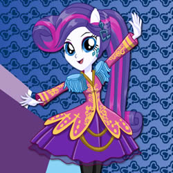 Rarity Rocking Hairstyle